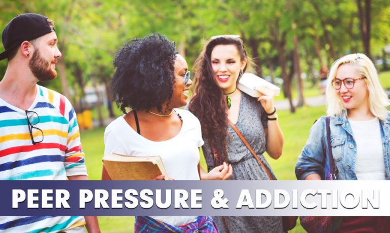 Peer Pressure Can Lead to Alcohol and Drug Use