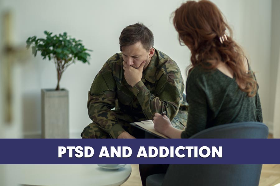The Connection between PTSD and Addiction